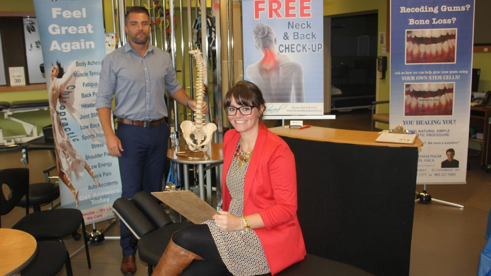 Niagara Health Expo | exhibitor Advanced Chiropractic Clinic