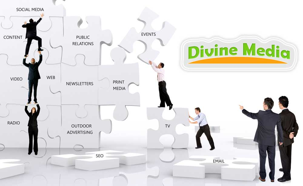 Communications services by Divine Media