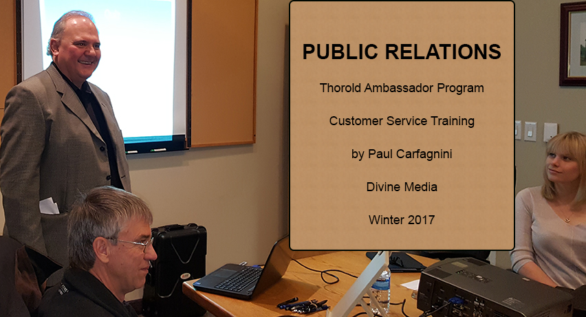Public Relations - Customer Service Training - Ambassador Program