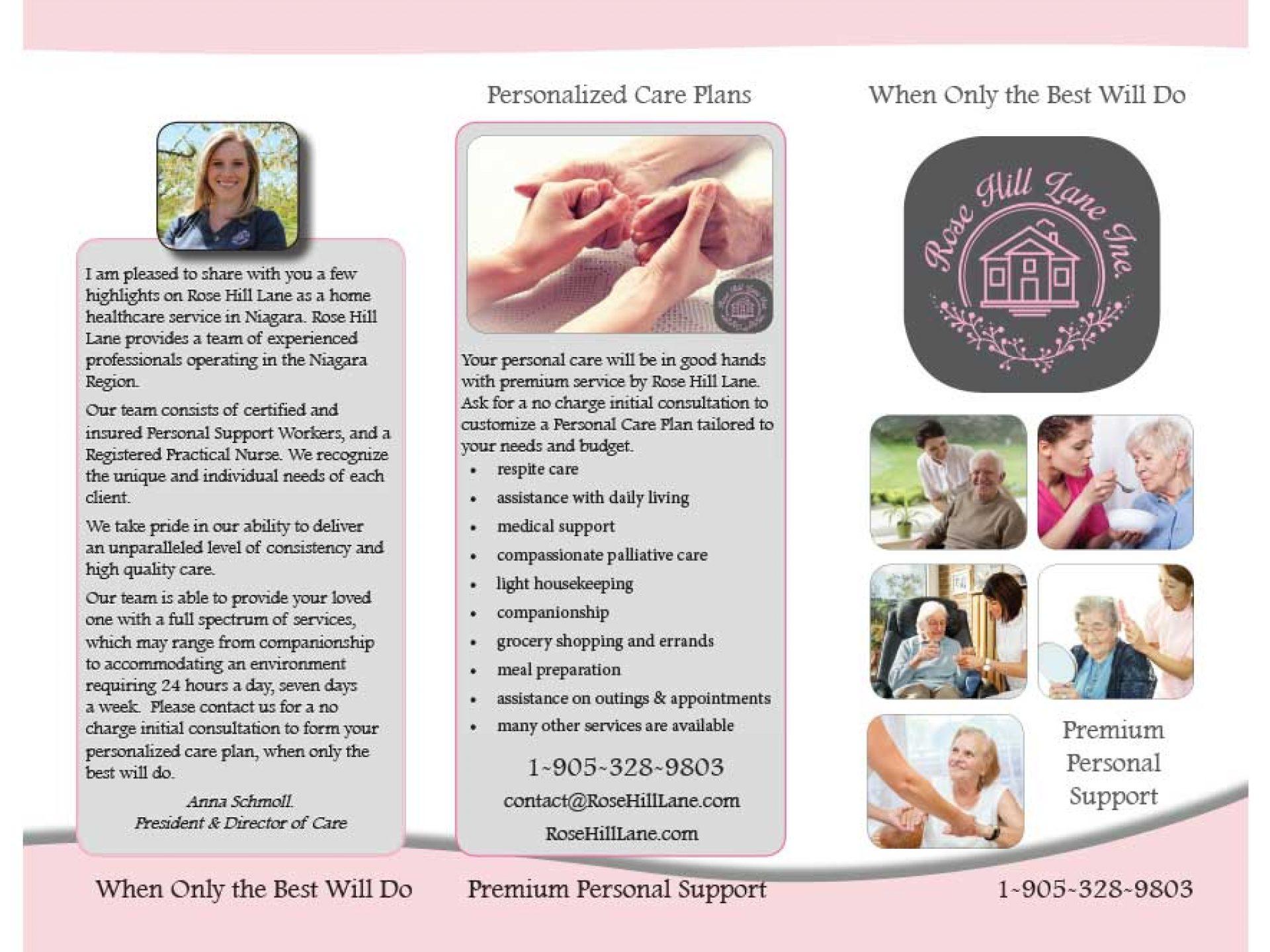 Brochure - Rose Hill Lane