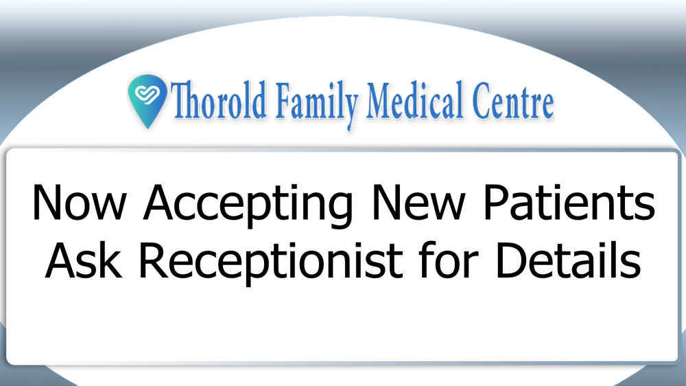 Digital Signs Thorold Family Medical Centre